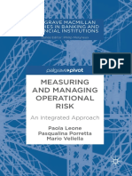 (Palgrave Macmillan Studies in Banking and Financial Institutions) Paola Leone,Pasqualina Porretta,Mario Vellella (Eds.)- Measuring and Managing Operational Risk_ an Integrated Approach-Palgrave Macmi