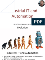 Industrial IT and Automation Overview