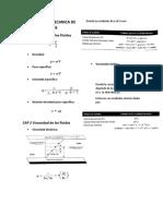Formulas de Mecanica de Fluidos Actualizado
