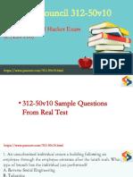 Certified Ethical Hacker 312-50v10 PDF dumps download
