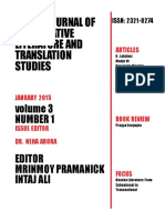 Volume 3, Number 1, January 2015 ( IJCLTS)