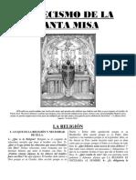 Catecismo de La Santa Misa