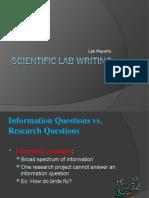 8th Lab Writing 2010
