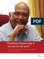 Dr R a Mashelkar _Gandhian Engineering