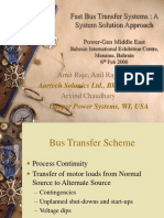 BTS 2000-2008 - PowerGen Middle East Fast Bus Transfer Systems - A System Solution Approach