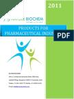 Pharmaceutical Industry Brochure