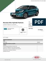Kia Niro Hybride Premium
