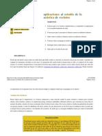 aplicaciones al estudio de la acústica de recintos