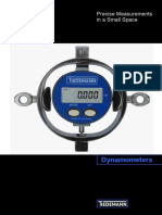 Brochure Tiedemann Dynamometers 2013