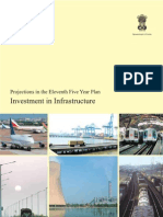 IBEF- Investemnt in Infrastructure - Eleventh Year Projections