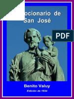 Devocionario de San Jos'