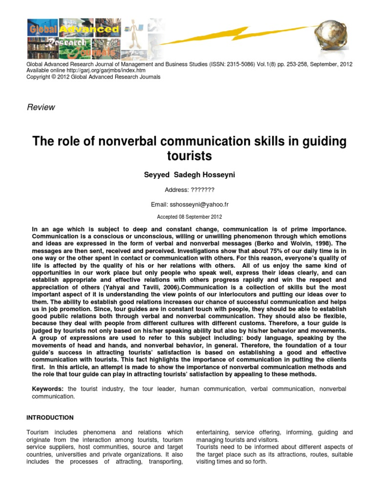 what are the functions of nonverbal communication