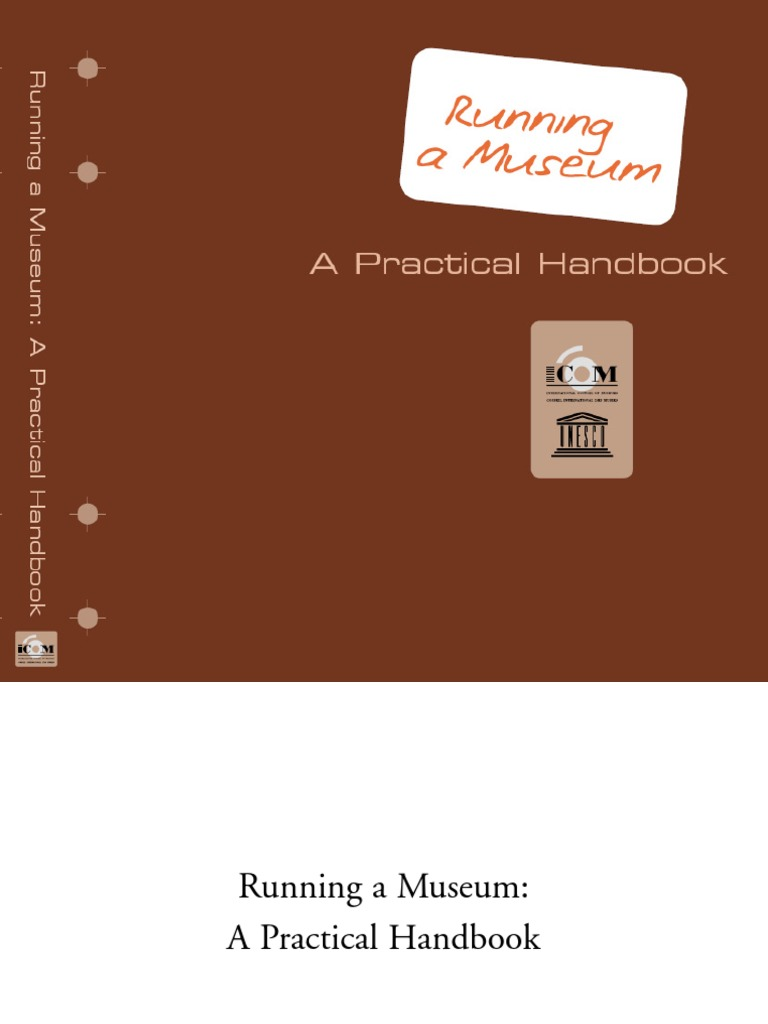 practical_handbook pdf | Museum | Preservation (Library And Archival
