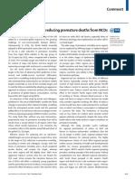 Regional Roadmap for NCD Reduction