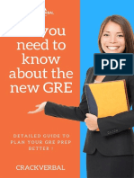 All You Need to Know About the New GRE-CrackVerbal