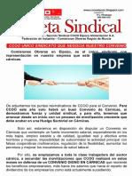 Gaceta Sindical CCOO - MAYO 2018
