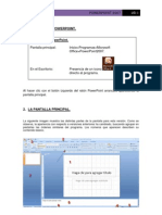 Aula Mentor. Muestra de manual de POwer Point. Microsoft Office