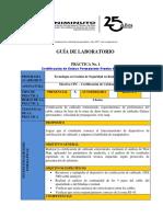 Guía de Laboratorio Certificación de Cableado Prueba WIRE MAP Rev