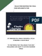 ME 491 Guatemala Solar Dehydrator Report Cover