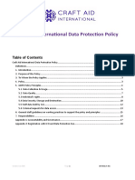 cai data protection policy