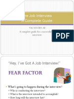 Job Interview - A Complete Guide