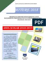 Brosura Admitere la Liceu 2018 Bucuresti