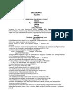 Spesifikasi Teknis RTH