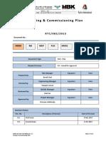Test Commissioning Plan Rev 1 Al Ri