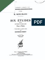 Robert Schumann Studie 1 Klavier Vierhändig