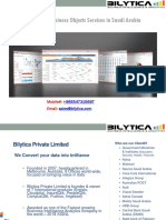 Bilytica #1 SAP BO Business Objects Services in Saudi Arabia