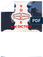 Lesson D-A. Voice and Diction