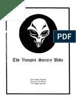 The Vampire Sorcery Bible