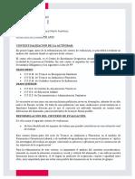 Reformulación Criterio de Evaluación.