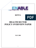 D 1 7 Kenya Health Policy Overview