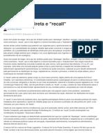 Democracia Direta e Recall - Jus.com