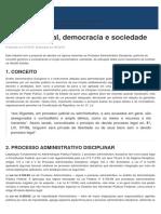 Controle Social, Democracia e Sociedade - Jus.com