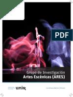 CITES Folletos Investigacion Artes Escenicas AAFF