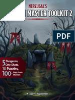 Nerzugals Dungeon Master Toolkit 2