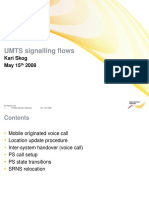 UMTS Signalling Flow