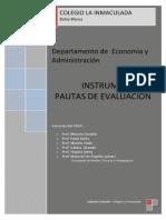 EVALUACION Economía y Administración