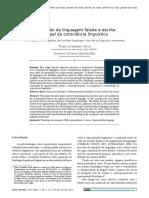 Artigo - A aquisição da linguagem falada e escrita.pdf