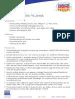 4 2012 Press Release Lesson Plan