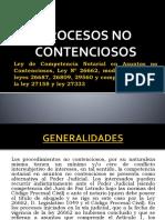 Ley de Competencia Notarial en Asuntos No Contenciosos