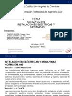 Norma Em 010 Instalaciones Electricas y Mecanicas