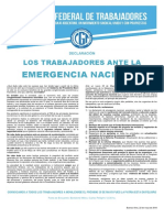 Emergencia Nacional 25 de Mayo