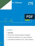 02 NetNumen U31 Software Installation_54P