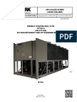 Manual Chiller YORK 250 TR