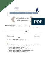 Advanced Course Content for Revit Structure