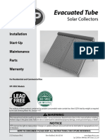 HTP Evacuated Tube Solar Collector