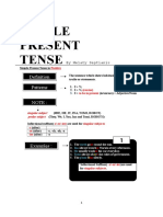 Handout Simple Present Tense by Septianis(2)